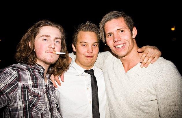 Simen, Kristian og Fredrik