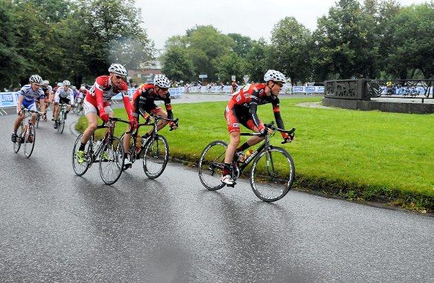 Per Kristian Kirkhus fra Sandefjord Sykleklubb kjer Sandefjord Grand Prix