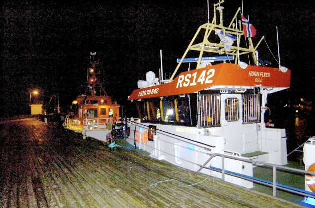 Redningsskøyta «Horn Flyer» blir brukt til å frakte loser i Ytre Oslofjord som følge av arbeidstidskonflikten mellom Kystverket og losbåtførerne. Den har vært involvert i flere nestenulykker.