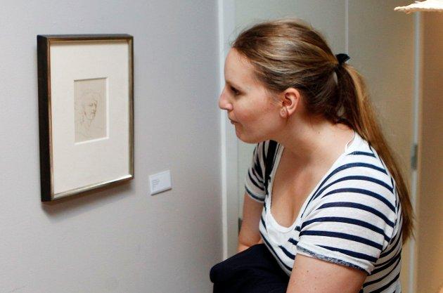 FULLT HUS: Utstilling med tresnitt av Munch og Astrup åpner i Bærum Kusntforening. FOTO: KNUT BJERKE