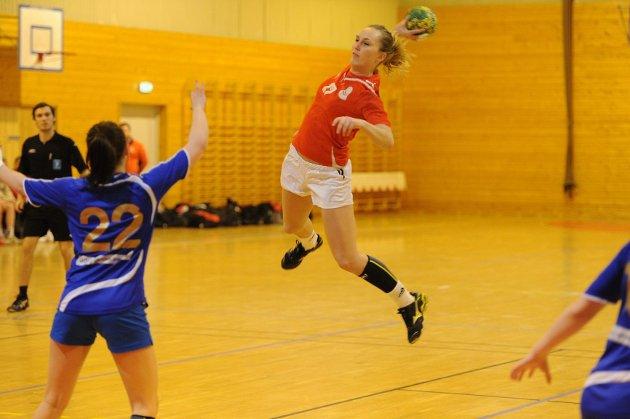 Susanne Lehmann og Sandar spiller i 3. divisjon også neste sesong.  ARKIVFOTO: PER LANGEVEI