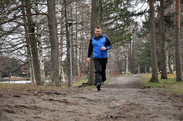 Ole Petter Sølvesen er med på Utfordringen. Foto: Ann Kristin Saastad