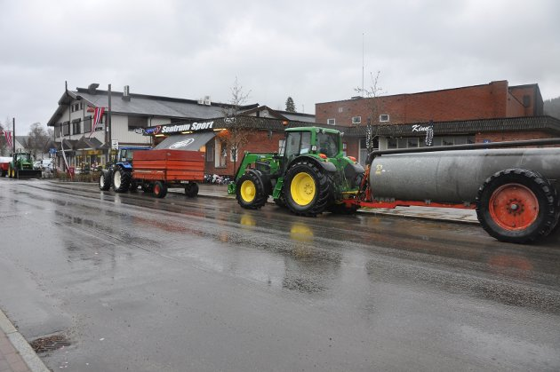 I Trysil var det traktorene som tok oppmerksomhert