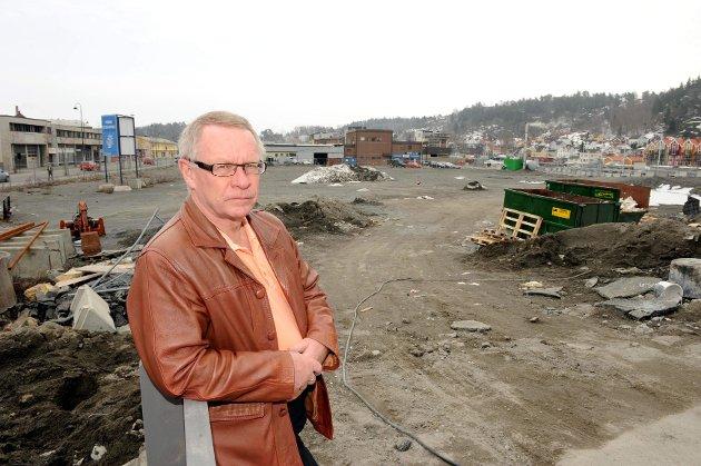 Tor Steinar Mathiassen (H) mener det er naturlig å diskutere ekspansjon av sentrum.