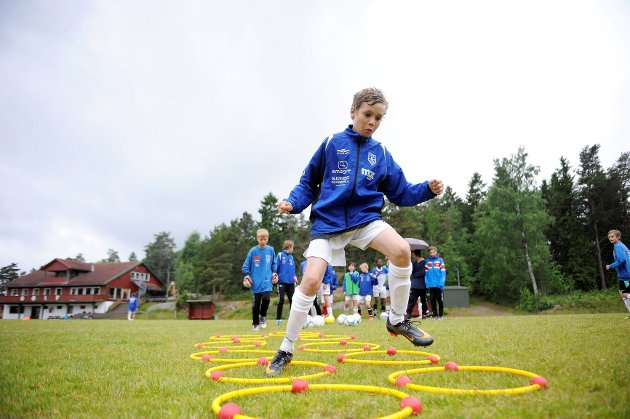 GØIF. Barneidrett. Fotball. Barnefotball. Aktivitet. FOTO: Anders Mehlum Hasle