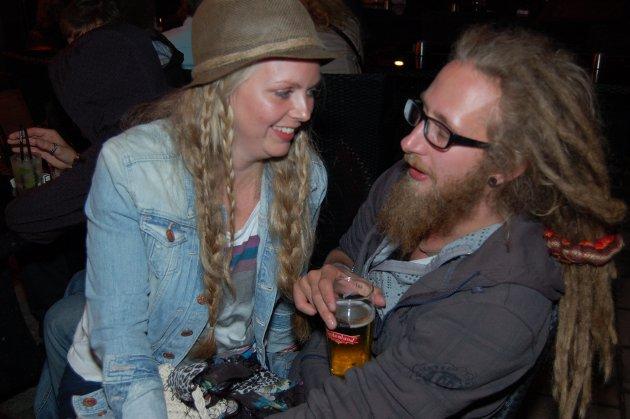 På James Clark: Camilla Jensen og Emil Sjölie.