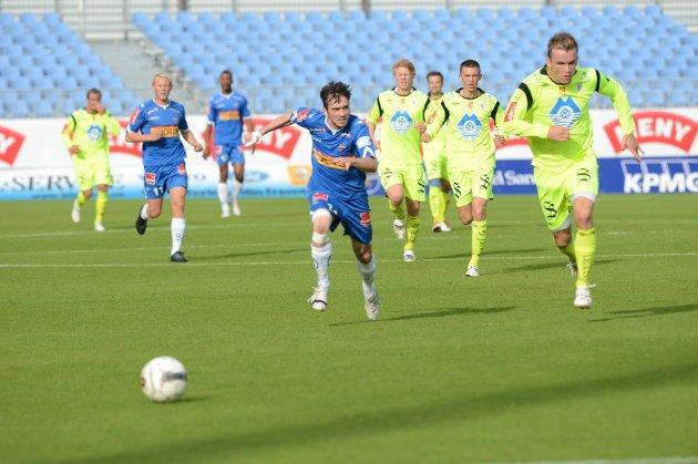 Cato Hansen og Sandefjord Fotball fosset fram på mot Hødd søndag og vant 1-0.