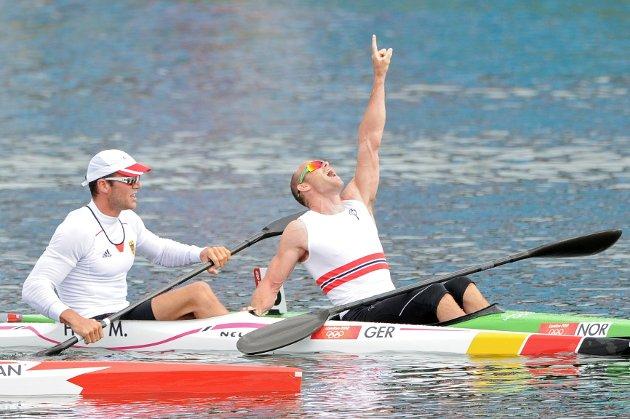 Eirik Verås Larsen padlet inn til OL-gull onsdag.