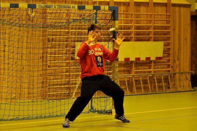 Torbjørn Sittrup Bergerud sliter med ryggvondt.