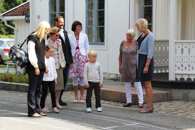Prins Sverre Magnus startet på Jansløkka skole torsdag.
