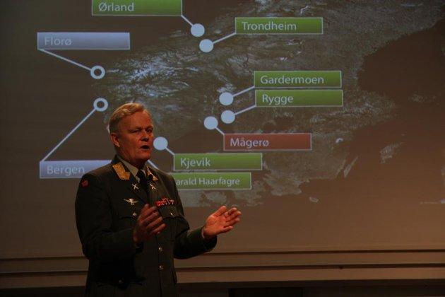 Rygge flystasjon er fortsatt med i forsvarssjef Harald Sundes fremtidsplaner, dog i en redusert utgave. Bodø, Mågerø og Sørreisa er foreslått avviklet.