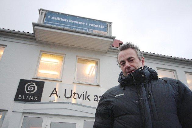 Arne Utvik d.y. er daglig leder for boligbygger - og har kjøpt landets dyreste hytte i 2012.