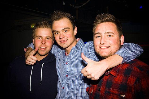 Magnus, Martin og Ole Martin