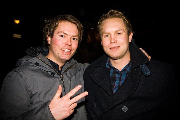 Mats (Robban) og Thomas
