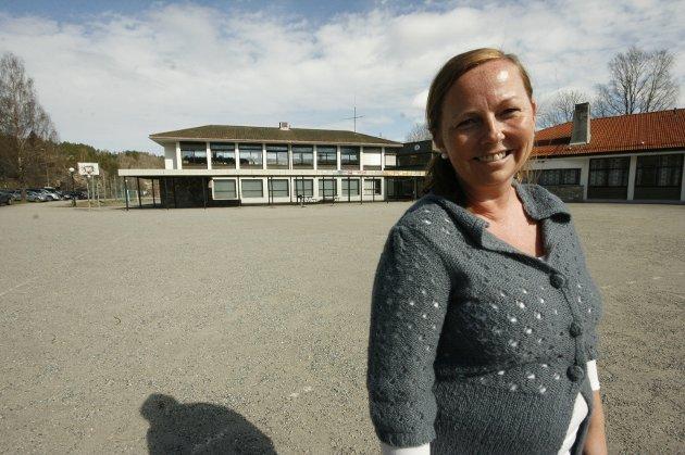 Anne Michalsen tar med seg gode minner fra perioden som rektor ved Dal Skole.