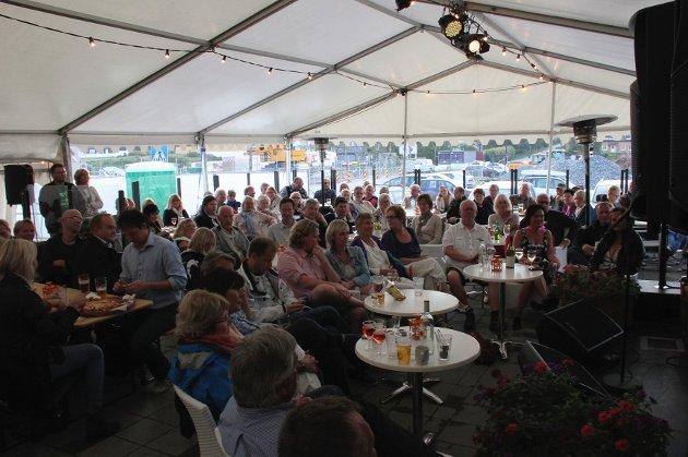 Ole Paus-konsert på Losen i Larkollen i slutten av juni.