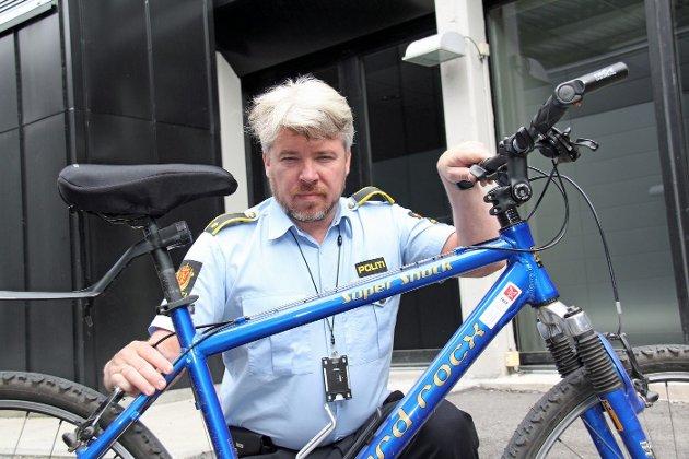 MANGE SØKK VEKK: Siden mai i år har det blitt stjålet 200 sykler i Asker og Bærum. Drangevåg tror mye av det skyldes organisert kriminalitet. FOTO: KIM VAN DER LINDEN