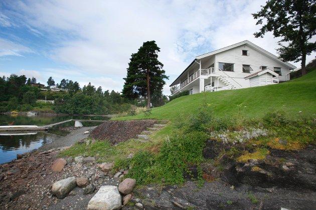 Eneboligen i Broveien på nesøya ble den tredje dyreste i juli. Salgssummen der var 14.900.000 kroner.