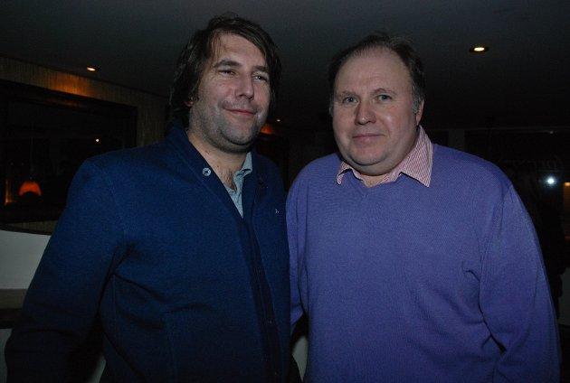 Jerome og Bob hadde en flott kveld på Privat.