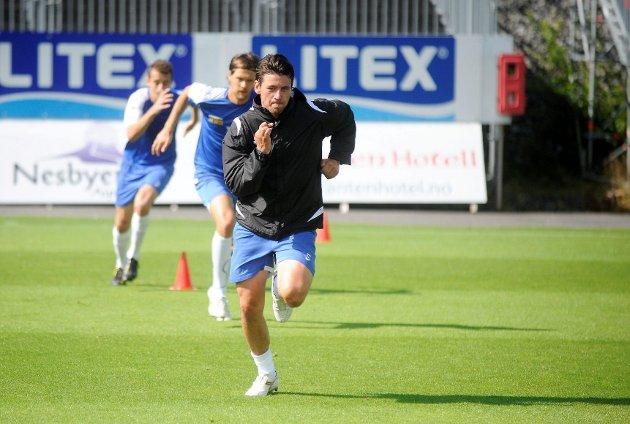 Knallhard trening og stor vilje ligger bak comebacket til Kenneth Dokken. FOTO: ANDERS MEHLUM HASLE