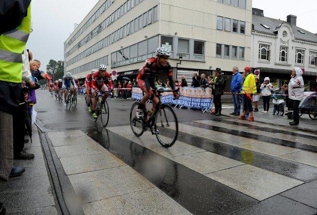 Sveinung Bertelsen fra Sandefjord Sykleklubb. Sandefjord Grand Prix.