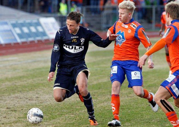 SERIESTART: Stabæk og Aalesund spilte 0–0 i seriestarten på Nadderud stadion. FOTO: KNUT BJERKE