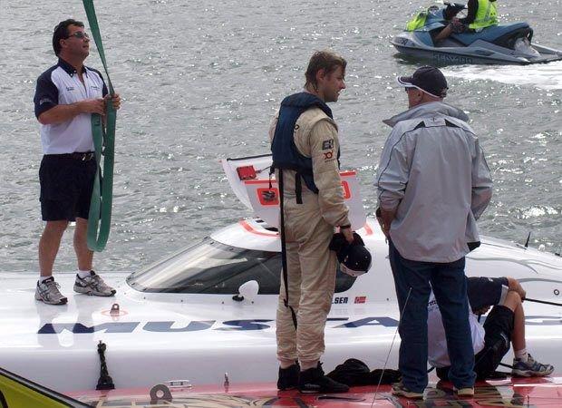 Pål Virik Nilsen slipper de mange langturene ned til Australia for å kjøre den nasjonale Class1-serien denne sesongen. Arkivfoto: Privat