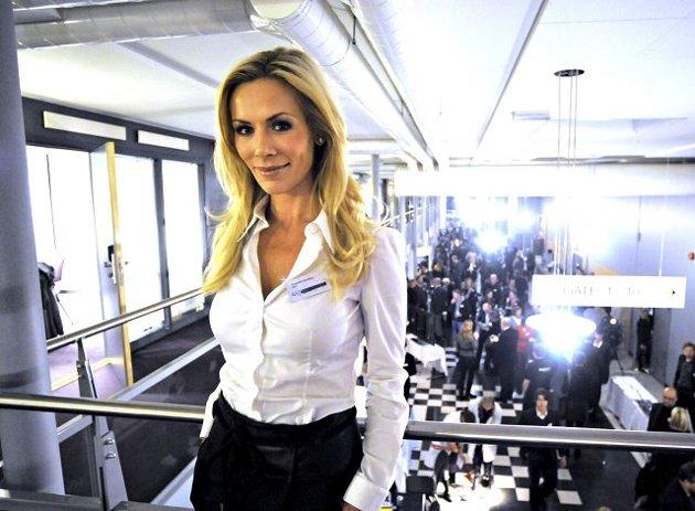 ENGASJERT: Gunhild Stordalen fra Kongsberg, er ambassadør for en kampanje som fokuserer på forskning kvinner og hjertesykdom. FOTO: IRENE MJØSENG