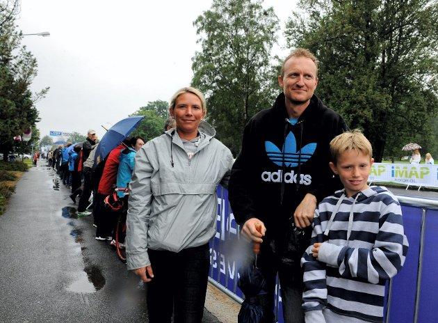 Baden Cooke (2), Alexander Kristoff (1) og Phan Åge Haugård.
