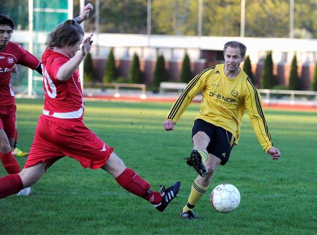 Aleksander Wike scoret to av målene da Ballklubben utklasset Store Bergan hele 12-2. Foto: Atle Møller