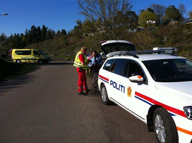 Politi og helsepersonell deltok i søket etter fireåringen.