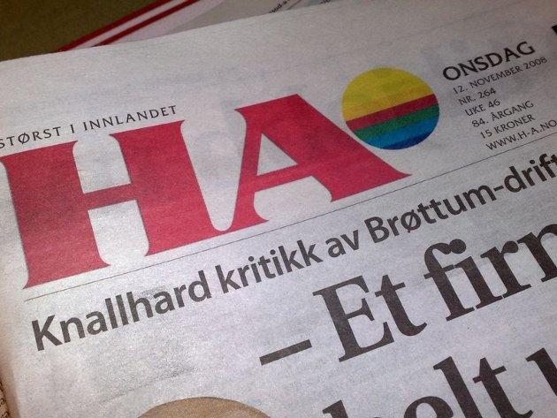 Hamar Arbeiderblad er kraftig forsinket ut til leserne på Hedmarken onsdag, mens lesere i Oppland og Østerdalen ikke får avisa i postkassa i det heletatt.