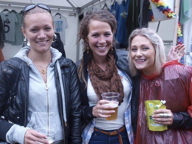 Linn Svartberg (28) fra Hamar, Åse Tandberg (26) fra Hamar og Tina Spidsberg Andreassen (24) fra Oslo.