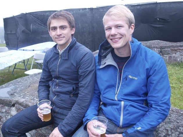 Arne Stormo (26) fra Vestvågøy og Henrik Enoksen (26) fra Trondheim.