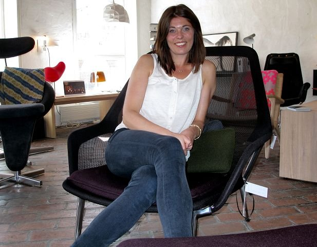 Elisabeth Gran Andersson (36) har tatt over Domino i Kirkegaten 28 i Gamlebyen.
