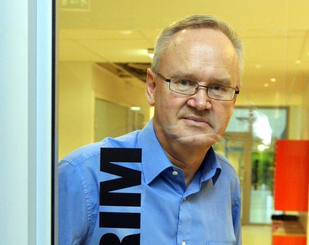 STOR SKATTEFANGST: – At tallene skulle bli så store hadde vi ikke kunnet forstille oss,  sier skattekrimsjef Jan-Egil Kristiansen i Skatt Øst. FOTO: KARL BRAANAAS