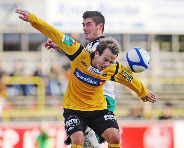 Henning Johannessen scoret ett mål for MFK II mot Torp