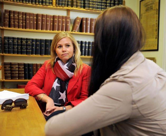Advokatfullmektig Ann-Iren Skjelbred vil hjelpe kvinnen med å få tilbake omsorgen for sine to barn.