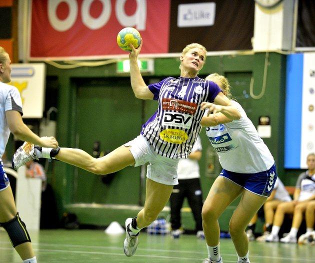 Glassverkets håndballjenter måtte se seg slått i Norgesmesterskapets 3. runde.
