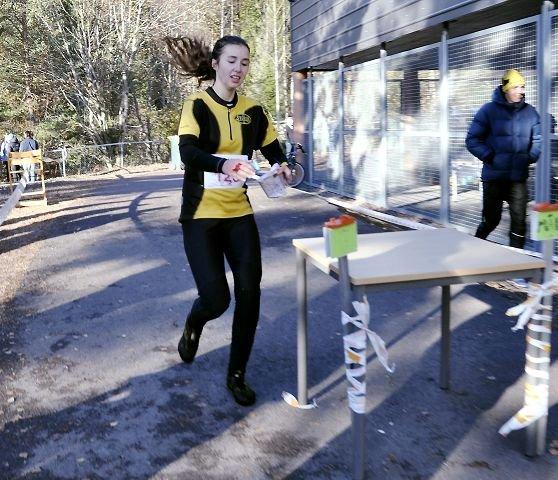 VANT PÅ ANDRE FORSØK: Ingunn Egeberg Vari som løper for Sturla IL, deltok for andre gang i Kneskjælven, og vant dameklassen for første gang.