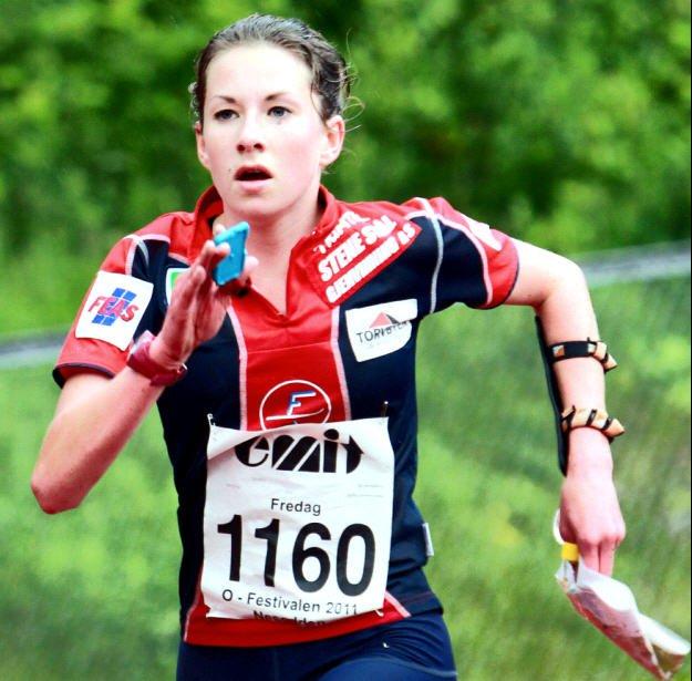 FSKs Sigrid Alexandersen vant fredag kveld NM-gull i nattorientering.