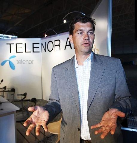 SPONSORSJEF: Petter Svendsen i Telenor. FOTO: ULF HANSEN