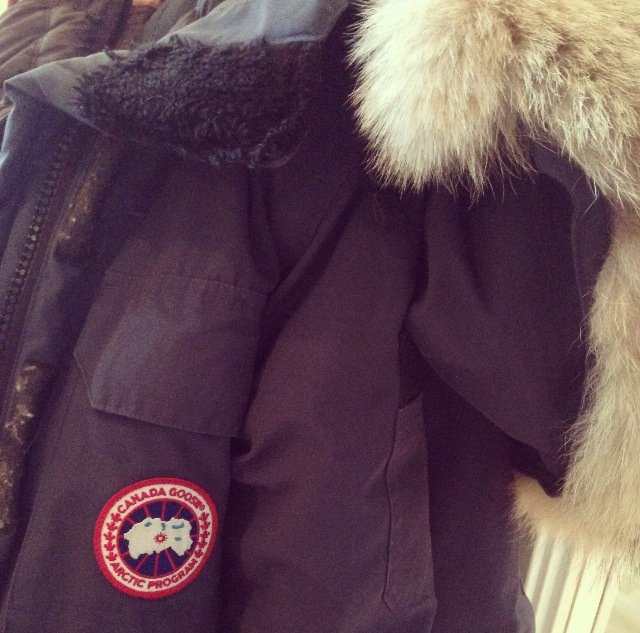 canada goose jakke laget av