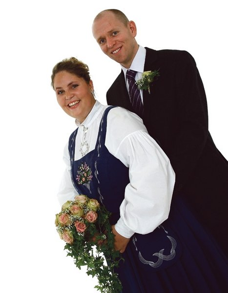 Alice Edholm Øibo og Anders Øibo.          Foto: Fotografene i Fredrikstad