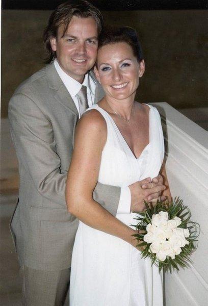 Ann-Carin og Truls Petter Foss giftet seg 3. oktober i Meloneras, Gran Canaria.