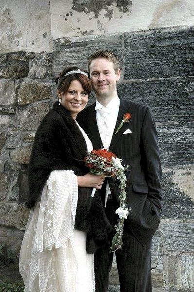 Vi giftet oss i Østre Fredrikstad kirke 6. september. Nina Charlotte Bjerke og Tor Øyvind Andersen.