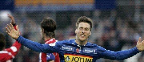 Spissen Andreas Tegström fra Fredrikstad blir HBK-spiller ut 2009-sesongen.