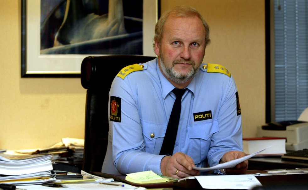 Politimester Torodd Veiding mener den lokale halvårsstatistikken er hyggelig lesning.