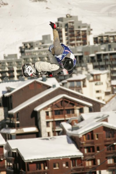 Tignes er hvert år vert for Tignes Airwaves - et europeisk svar på X Games.