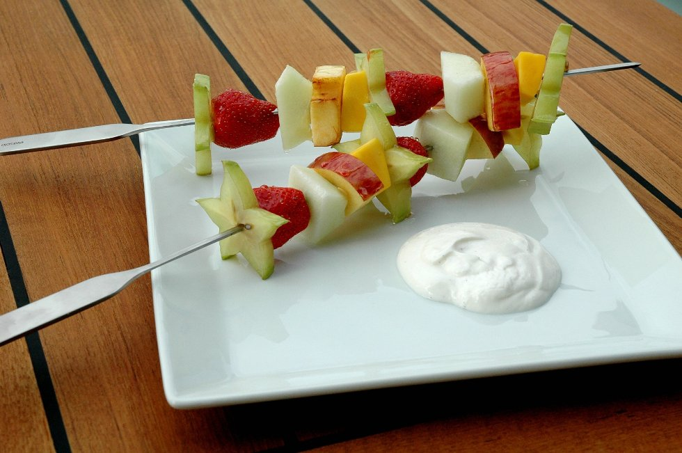 Fruktspyd (Foto: Kine Myrvold)